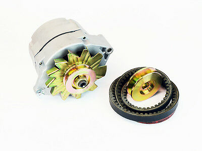 Lincoln Sa-200 Sa-250 F162 F163 1-wire Alternator W Belt Pulley Bw1616-ke