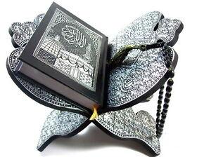 Koran Ständer Quran Halter+Gebetskette Tesbih  *hijab muslim Abaya Kaftan Islam*