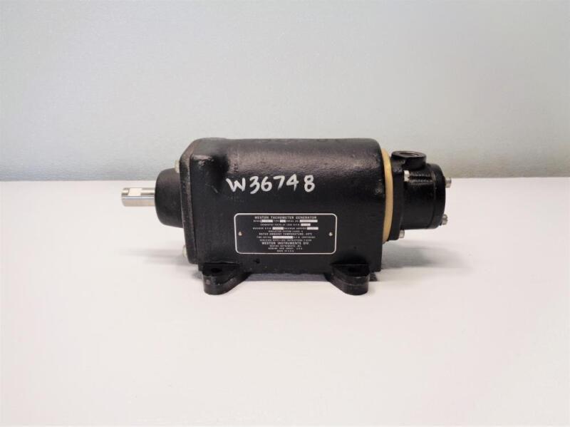Weston Tachometer Generator, Model 750, Type W