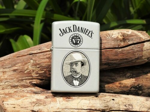 Zippo Lighter - Jack Daniels Cameo - Old No. 7 - Tennessee Whiskey - 224JD 638