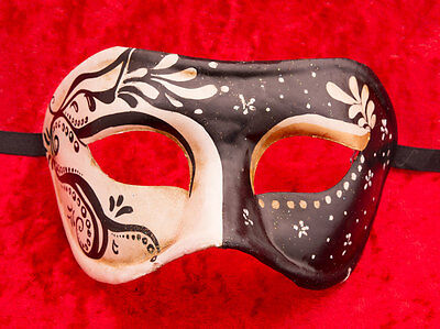 Mask from Venice Colombine Natalia Paper Mache -creation artisanale-2138 - V3B