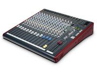 ALLEN & HEATH ZED-16FX MULTIPURPOSE MIXER W/ FX FOR LIVE/RECORDING (BRAND NEW )