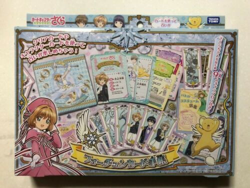 TAKARA TOMY Card Captor Sakura Clear Card Fortune Card Notebook Set Japan