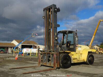 2005 Hyster H360hd 33800 Lbs Rough Terrain Forklift Cab Lift Truck Bidadoo