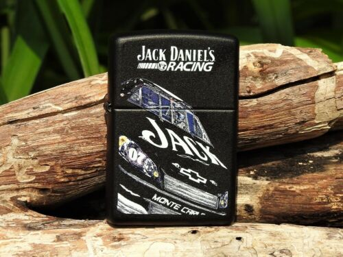 Zippo Lighter - Jack Daniels Racing Extreme - Clint Bowyer - NASCAR - Old No. 7