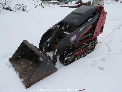 2014 Toro Dingo Tx427 Compact Mini Skid Steer Crawler Loader Aux Hyd Qc Bidadoo