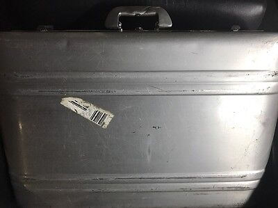Vintage Large Zero Halliburton Suitcase Equipment Case 26x19x9