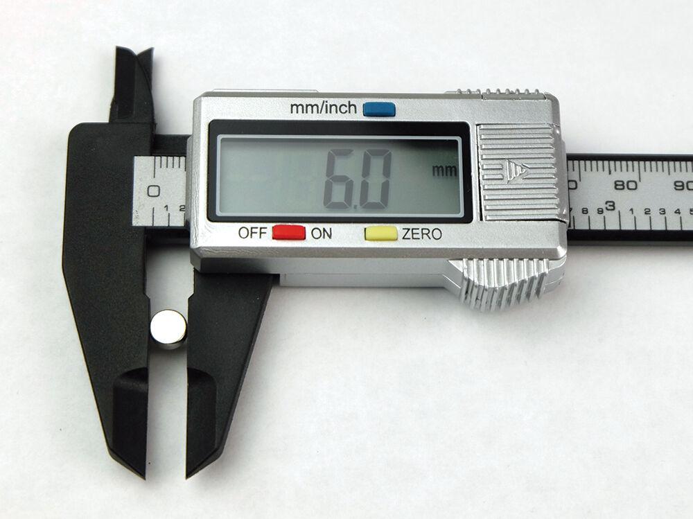 Купить Neodymium - 12 50 100 1000pc 6mm x 3mm 1/4x1/8 N52 Strong Disc Rare Earth Neodymium Magnet