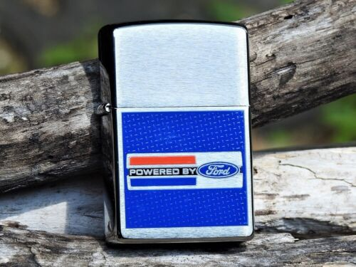 Zippo Lighter - Ford Motor Company - Powered By Ford - Performance - Trucks - V8