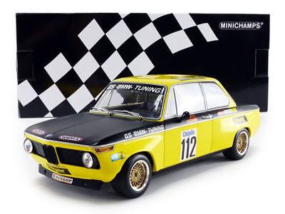 BMW 2002  Basche  DRM Flugplatzrennen Diepholz 1972-1:18 Minichamps 155722712