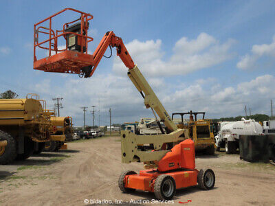 2011 Jlg E400ajp 40 Electric Articulating Boom Lift Man Aerial Bidadoo