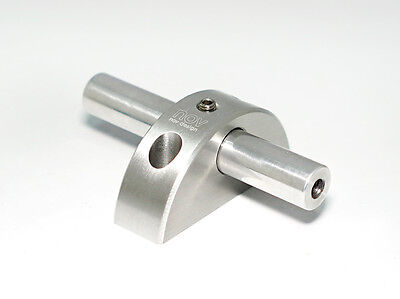 [nov010] NEW!! nov L-Type wheel mount / SILVER, light weight for Brompton