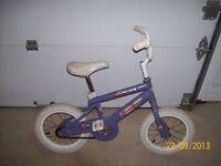 Joli vélo pour fillette