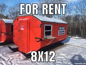 Lake Winnipeg Ice Fishing Shacks FOR RENT