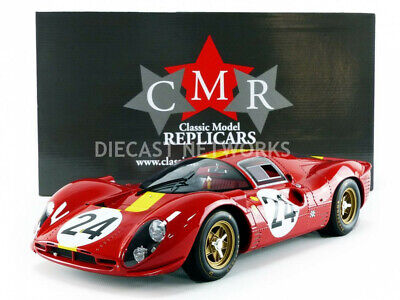 1:12 CMR Ferrari 412 P  #23 24h Le Mans Attwood//Courage 1967
