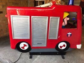 Fireman Sam Kiddie Ride On