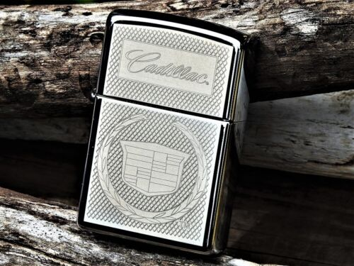 Cadillac Crest Zippo Lighter - GM - Escalade - Coupe DeVille - Eldorado - RARE