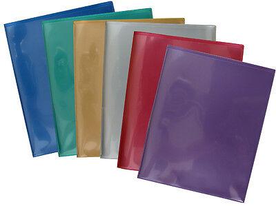 Storesmart 2 Pocket Plastic Folders 6-pack - R900mcp6