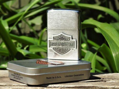 Zippo Lighter - Harley Davidson - Shield - Rare - Bar and Shield - Model: 20506