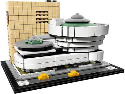 No Original Box LEGO Architecture Solomon R. Guggenheim Museum 21035 Kit