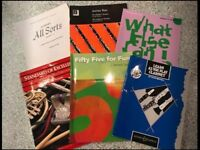 Clarinet Teaching Books And Book Bag