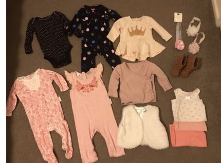 Quality baby girl bundle