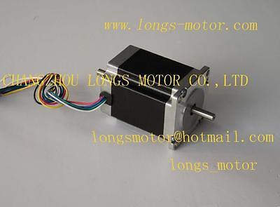 Nema23 Dual Shaft Stepper Motor 270oz.in 3a Cnc Mill 23hs8630b Longs Motor