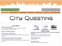 Try City-Questing street quest FOR FREE and earn additional income recommending us
