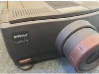 INFOCUS LITEPRO 580 LCD MULTIMEDIA PROJECTOR AND FLIGHT CASE - EXCELLENT CONDITION - £80 ONO