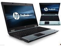 HP ProBook 6550b INTEL Core i5 CPU 8GB DDR3 Memory 500GB HDD LED Screen Win7Pro