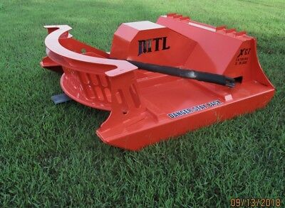 60 Mtl Attachments Xc7 Extreme Skid Steer Brush Cutter-3 Blade-made Us-219 Ship
