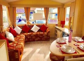STATIC CARAVAN HOLIDAY HOME FOR SALE, NORTH WEST, BY THE SEA, 12 MONTH SEASON