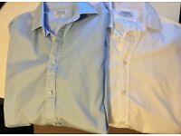 2 Men's TM Lewin Shirts 16 neck - slim