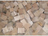 BLOCKS FOR WOOD BURNERS SUPPLIED IN 1 ton BUILDER BAG