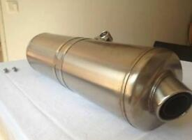 BMW F800GS original rear muffler