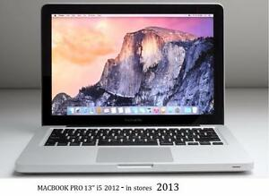 MACBOOK PRO 13 i5 2.5 ghz 8GB 500GB + OFFICE 2016+ FINAL CUT PRO X + LOGIC PRO X +MASTER SUITE DE ADOBE CS6