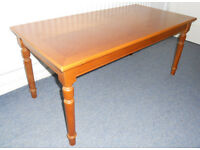 Large Retro Teak Coffee Table
