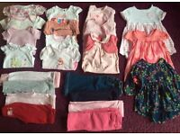 Big Bundle Of Girls 3-6 Months Clothes