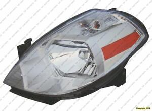 Head Lamp Driver Side High Quality Nissan VERSA HATCH BACK 2007-2012