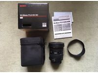 Sigma lens 10-20mm F3.5 EX DC Nikon Fit