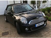 2012 MINI ONE AVENUE CONVERTIBLE 1.6 - 1YEAR MOT - FULL SERVICE HISTORY - IMMACULATE CONDITION