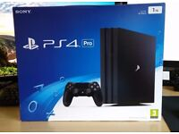 Brand New never boxed (un-opened) PS4 Pro 1TB