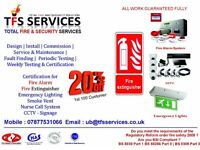 low budget for Commercial and Domestic fire alarm service maintenance ,Installation & commissioning
