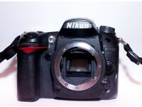 Nikon D7000 with 28-85mm Nikkor Lens and extras.