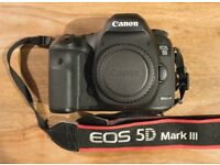 Canon 5D Mk3 Body in excellent condition