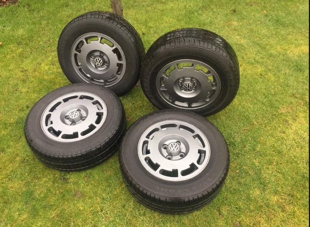 Mk2 golf Pirelli p slot alloys 4x100
