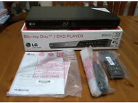 LG BD650 Blu-Ray DVD Player full HD unused and boxed
