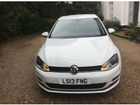 2013 Volkswagen Golf 1.6 TDI SE DSG (ss) 5dr