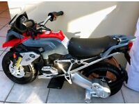 BMW GS Motorcycle 12v Electric Ride On for 3-6 year olds