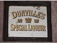 WANTED :WANTED :ANTIQUE PUB ADVERTISING MIRRORS AND ENAMEL SIGNS